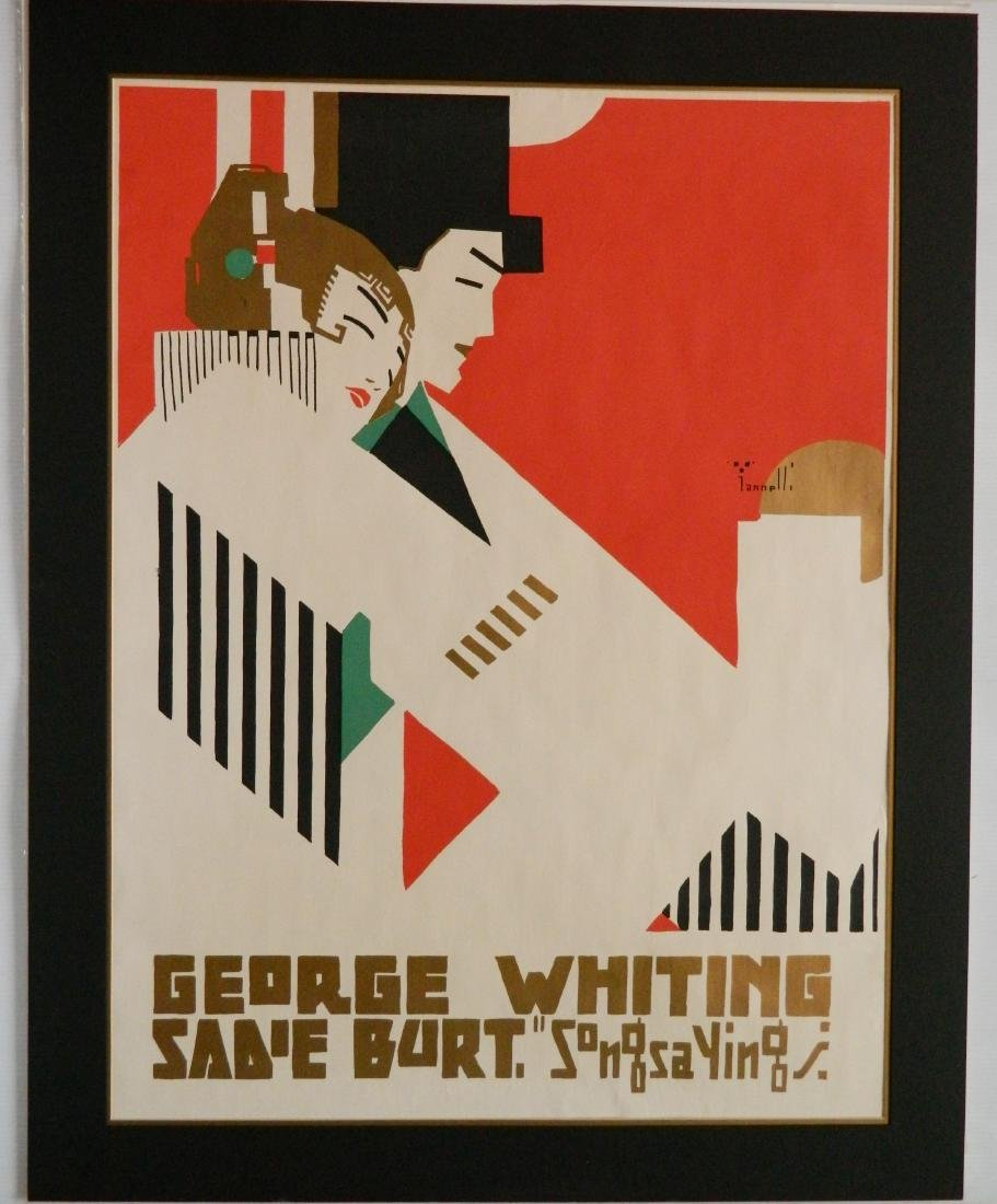 Alphonse Iannelli lithographic poster - 2