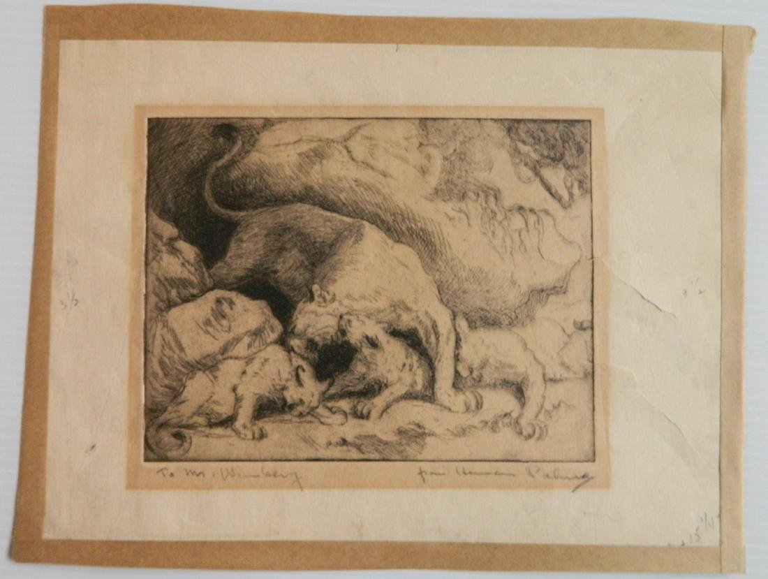 3 Old master etchings - 5