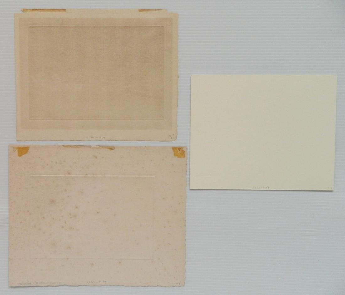 4 European intaglio prints - 3
