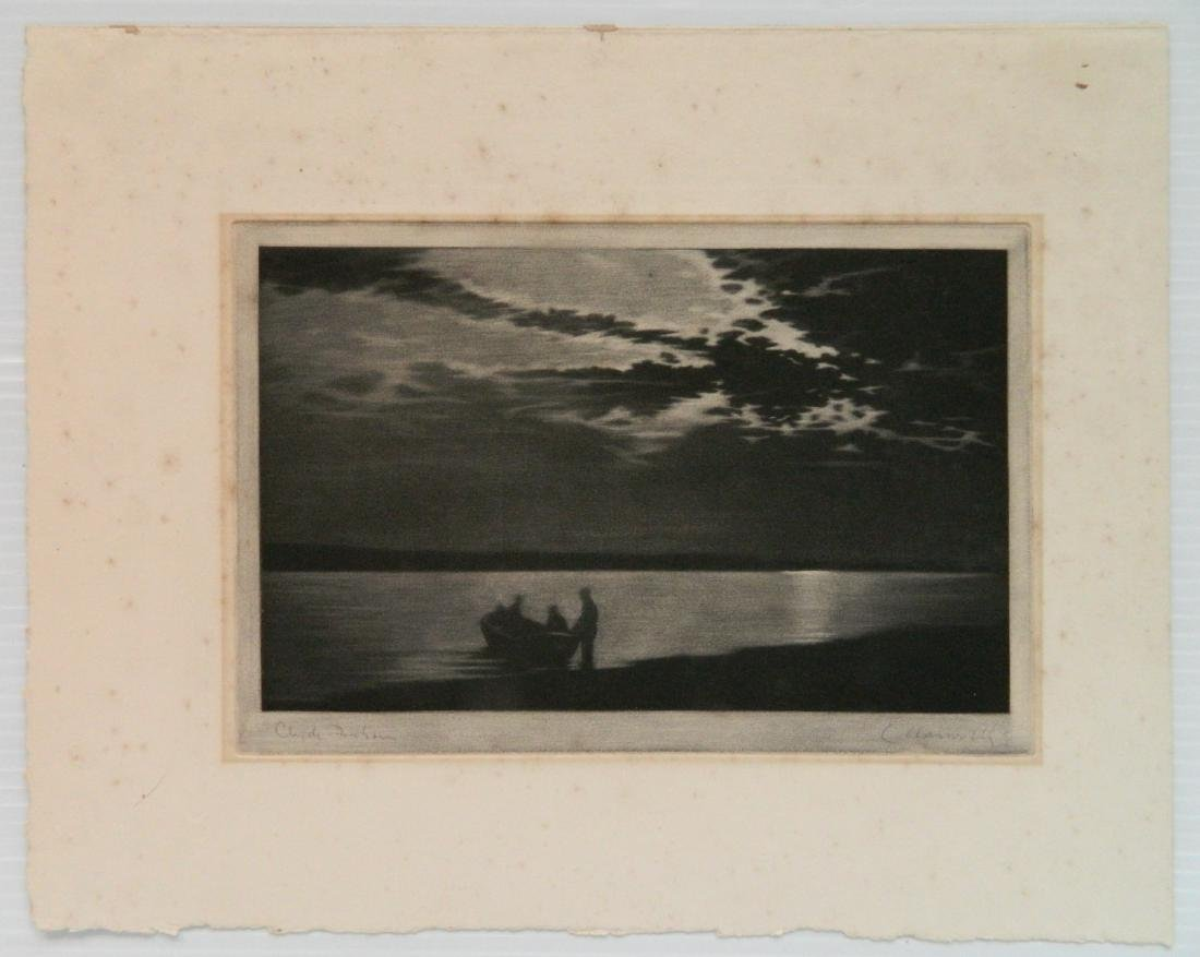4 European intaglio prints - 4