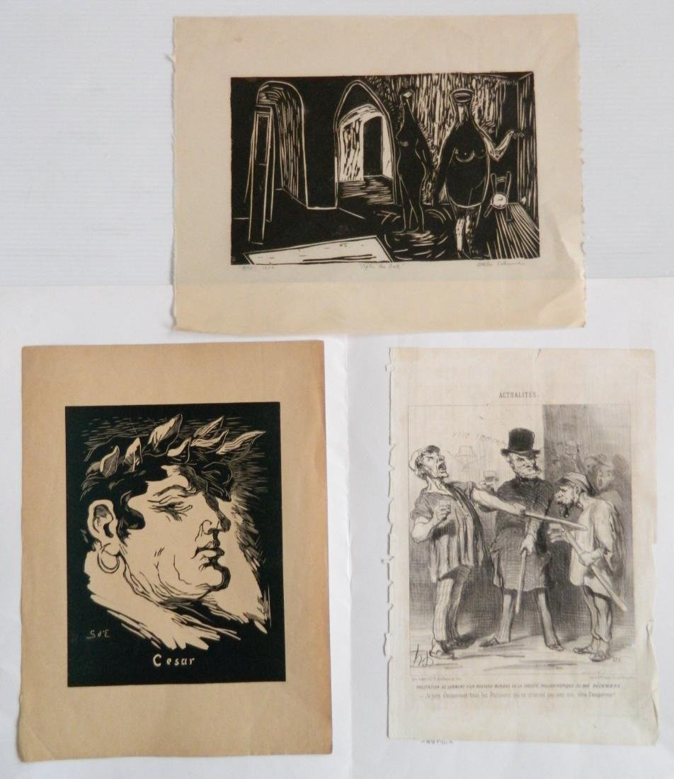 7 American and French prints - 3