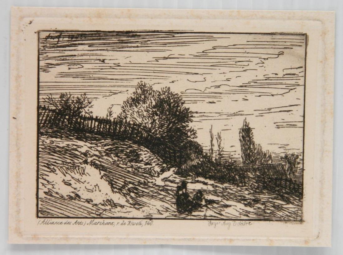 3 European etchings - 4