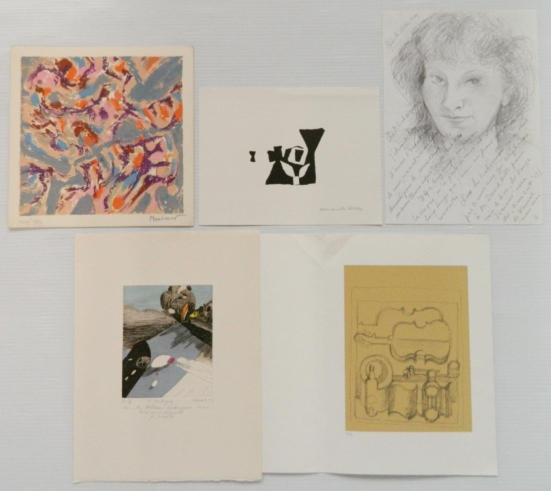 5 Works on paper