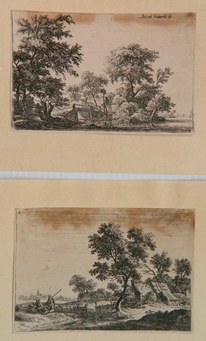 6 Old Master engravings - 3