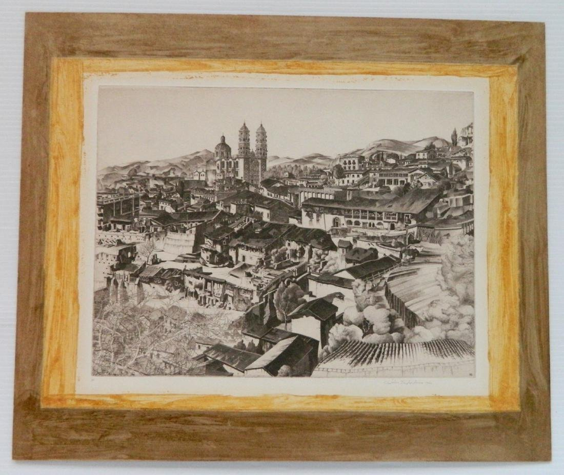 European and American School 6 intaglio prints - 6