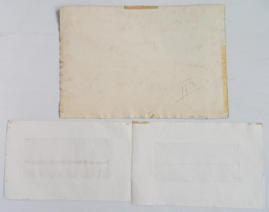 3 Works on paper - 2