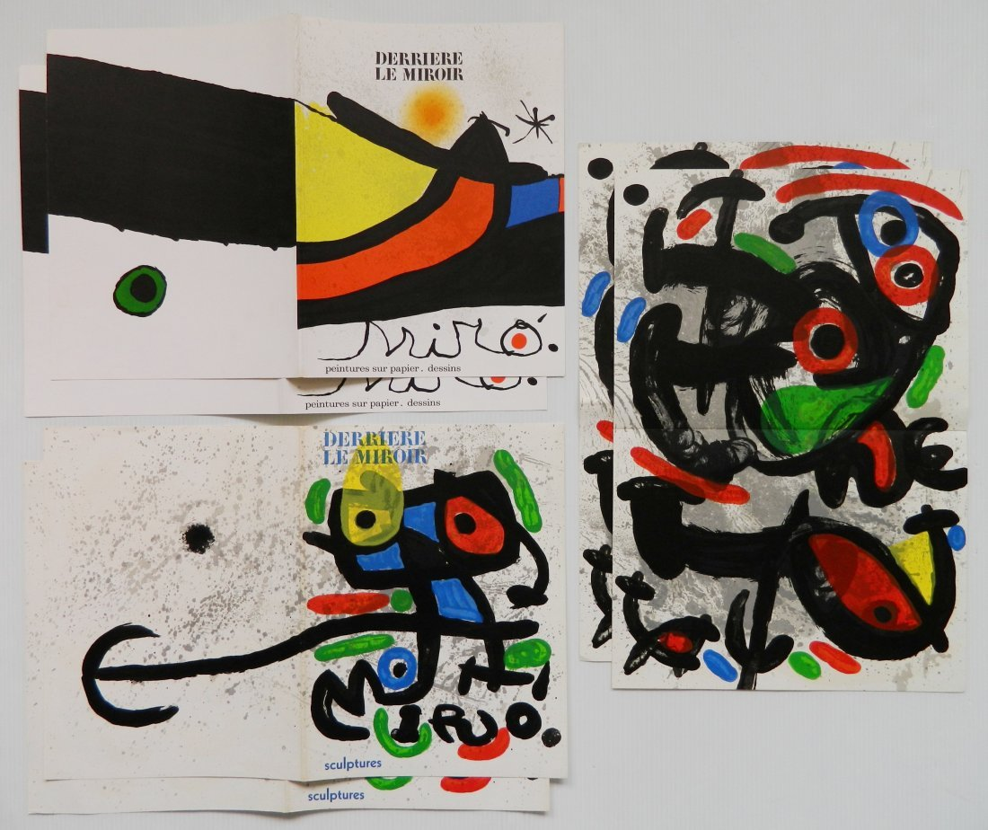 Derriere Le Miroir 18 lithographs in colors - 10