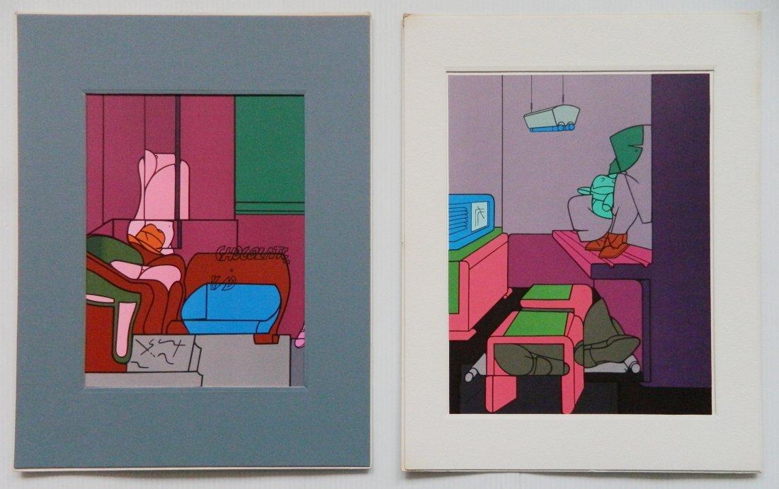 Derriere Le Miroir 18 lithographs in colors - 2