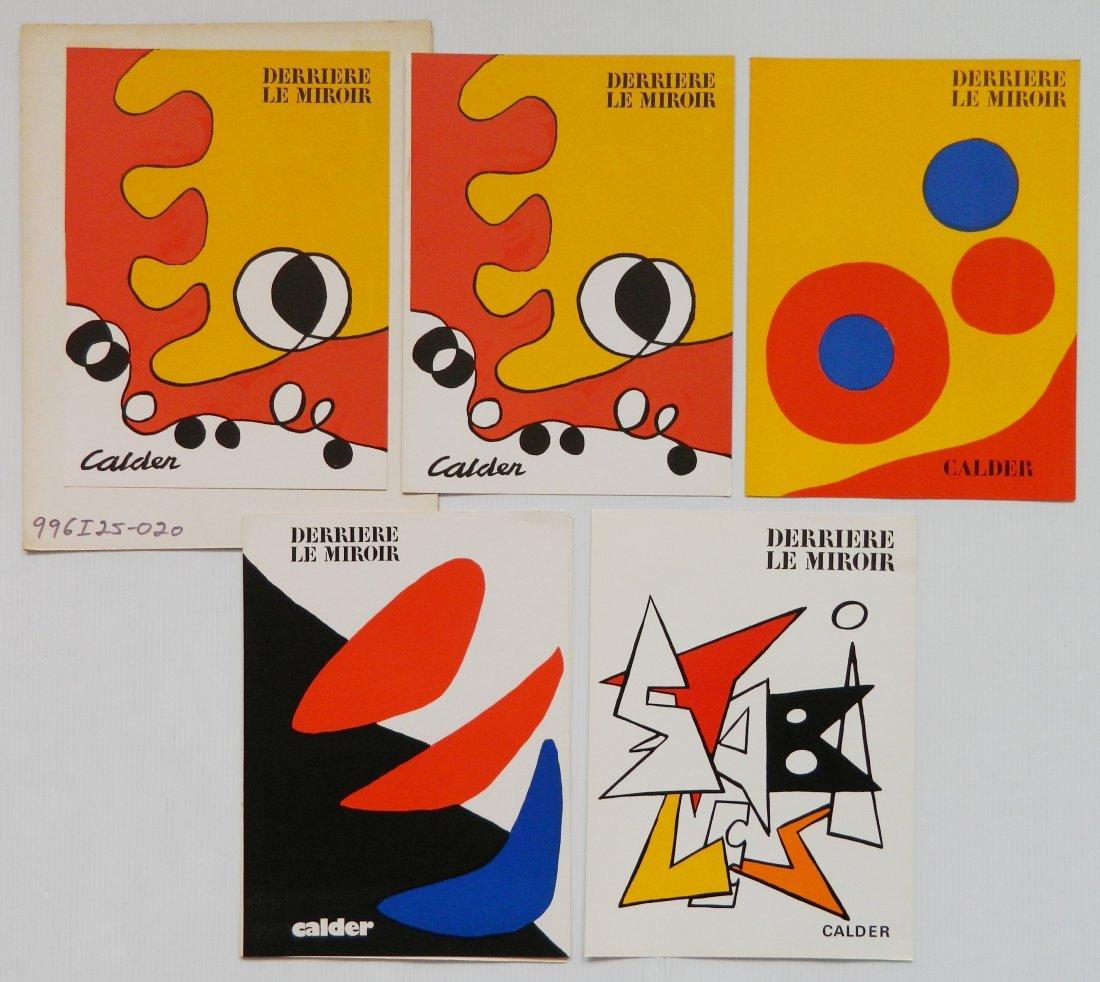Derriere Le Miroir 18 lithographs in colors - 8