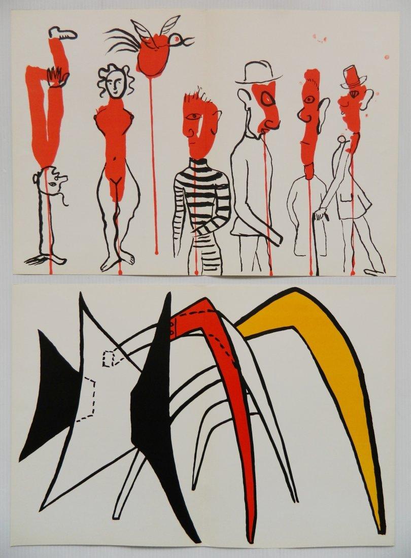 Derriere Le Miroir 18 lithographs in colors - 9
