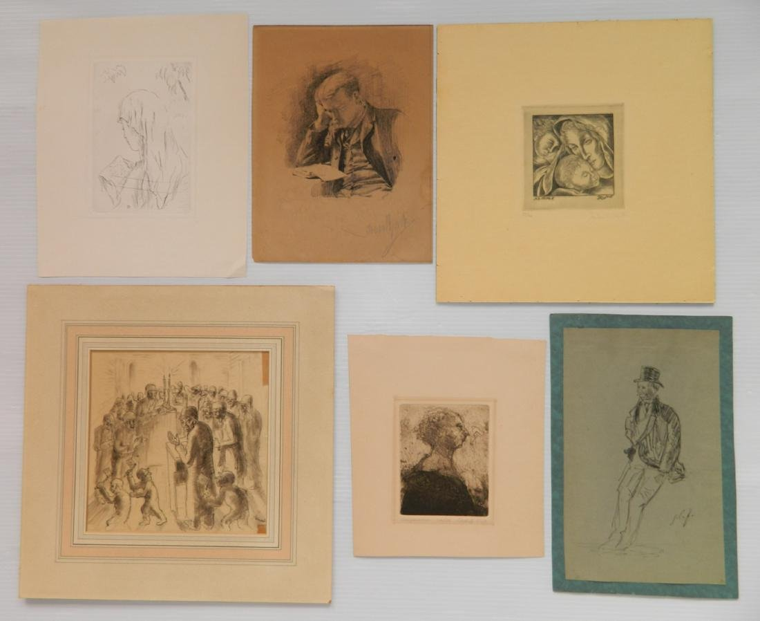6 Works on Paper