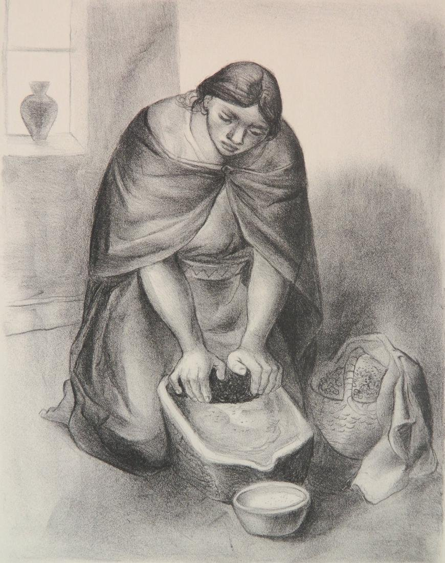 3 Mexican lithographs - 6