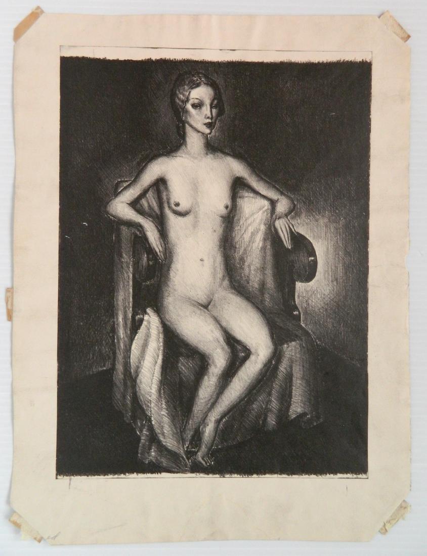 5 American lithographs - 3