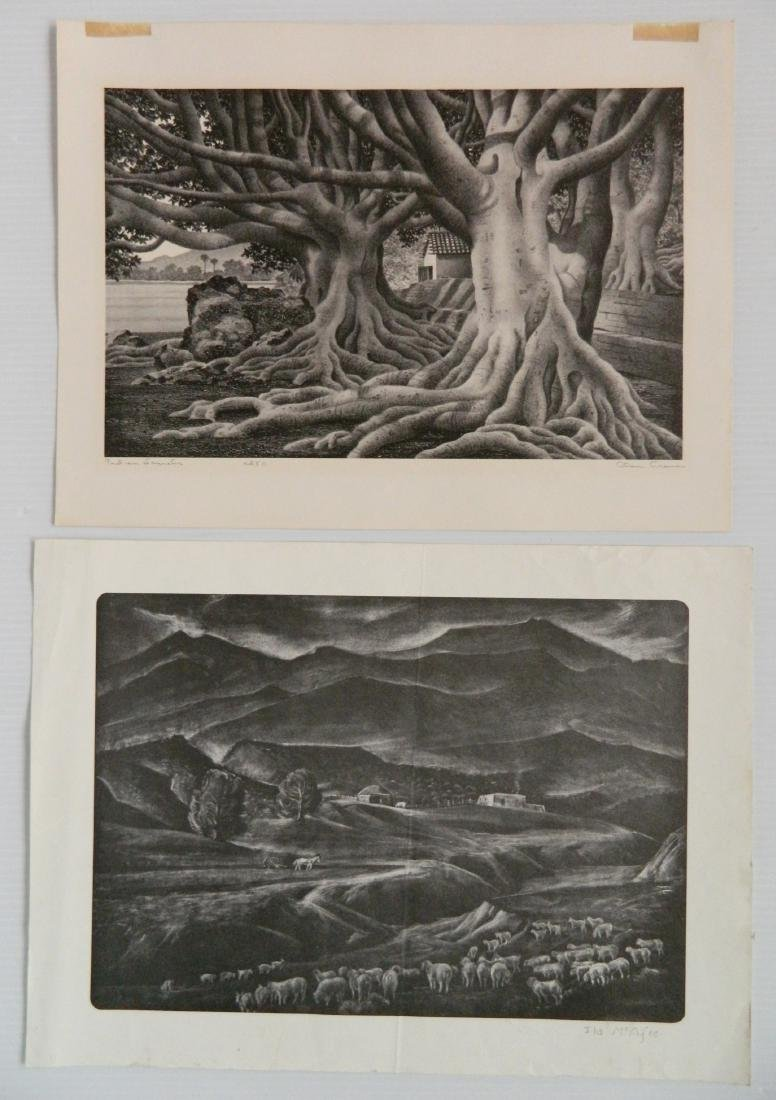 6 American works on paper - 3