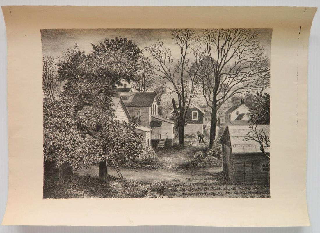 6 American works on paper - 6