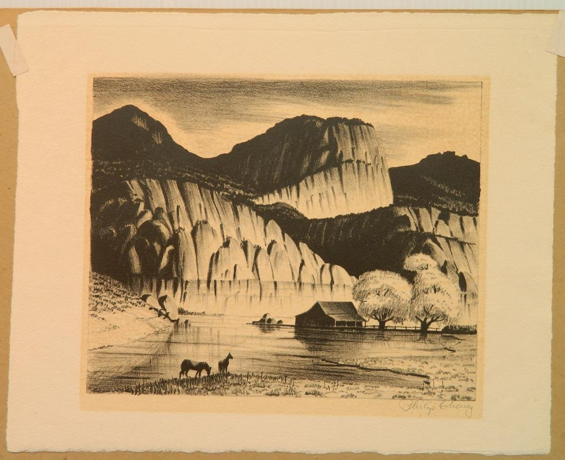 2 American lithographs - 2