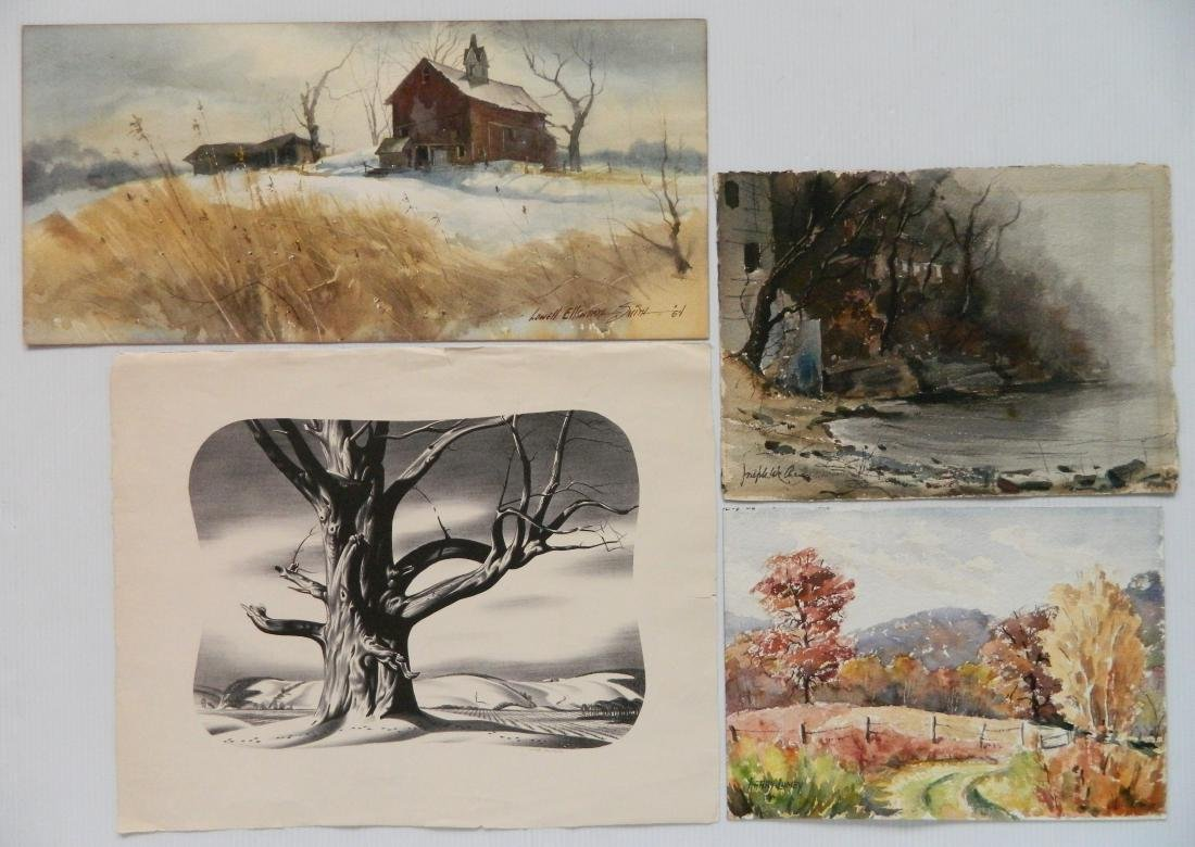 4 American landscapes