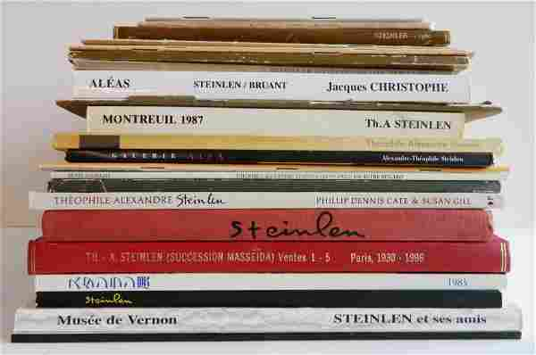 23 Books on Theophile Alexandre Steinlen
