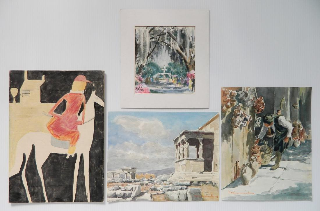 4 Watercolors