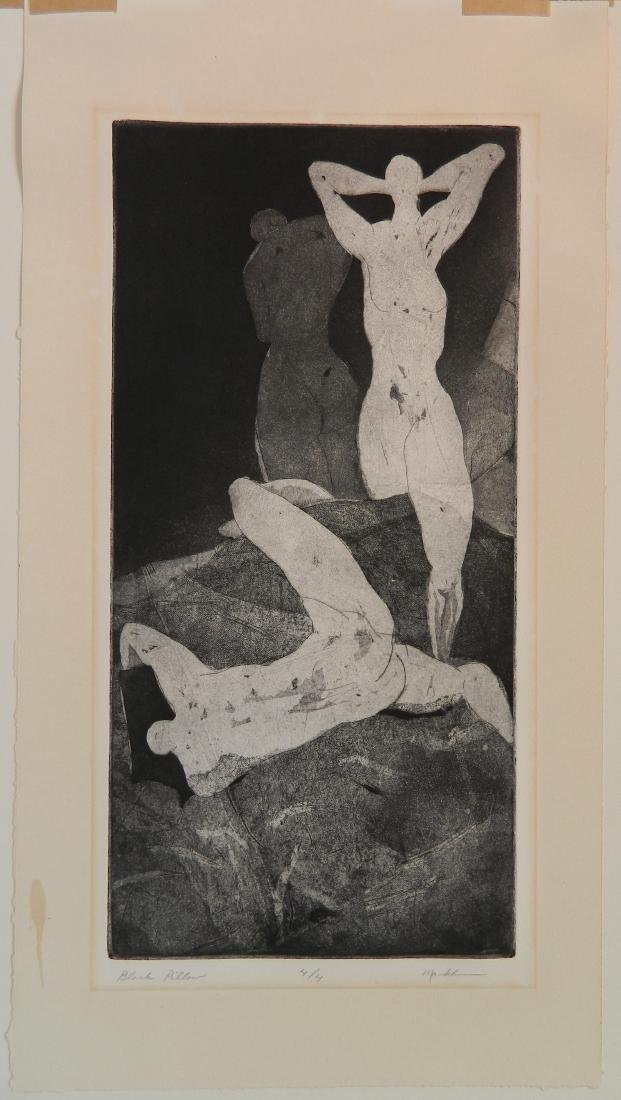20th c. American School etching - 2