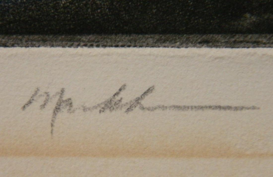 20th c. American School etching - 3