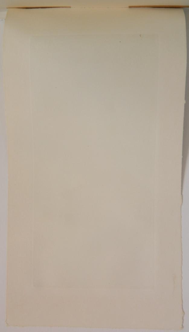 20th c. American School etching - 4