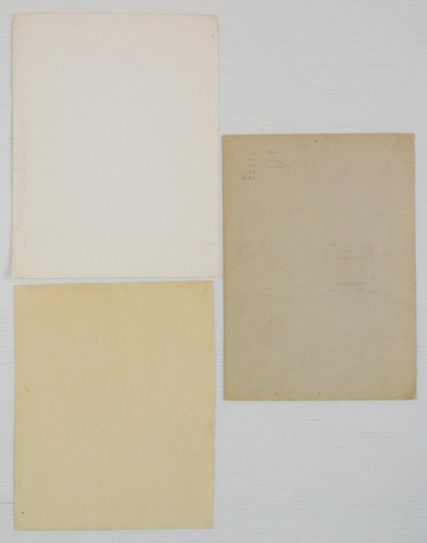 Misc lot of works on paper - 4