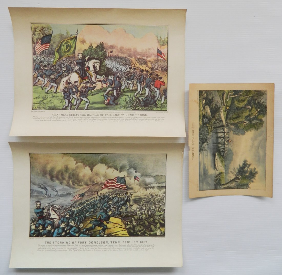 Gallery posters and repro Currier and Ives - 7