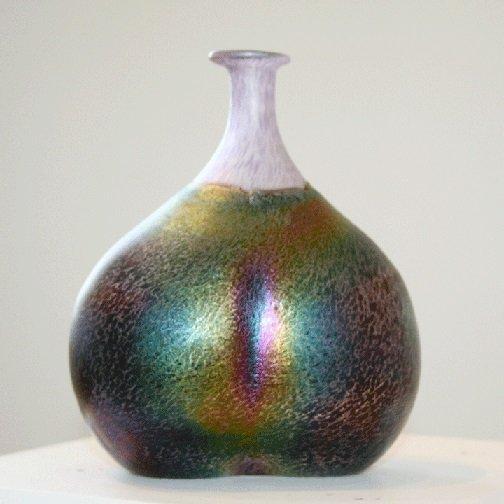 Kosta Boda Art Vase Signed Bertil Vallien Number #48137