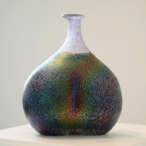 Kosta Boda Art Vase Signed Bertil Vallien Number #48137 - 2