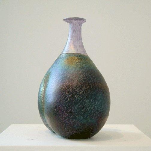 Kosta Boda Art Vase Signed Bertil Vallien Number #48137 - 3
