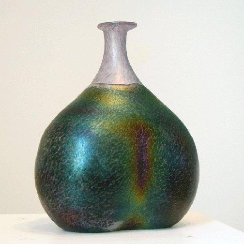 Kosta Boda Art Vase Signed Bertil Vallien Number #48137 - 6