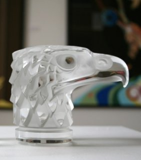 Lalique French Crystal Eagle Mascot (1)