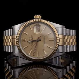 Rolex Men's DateJust Oyster Perpetual