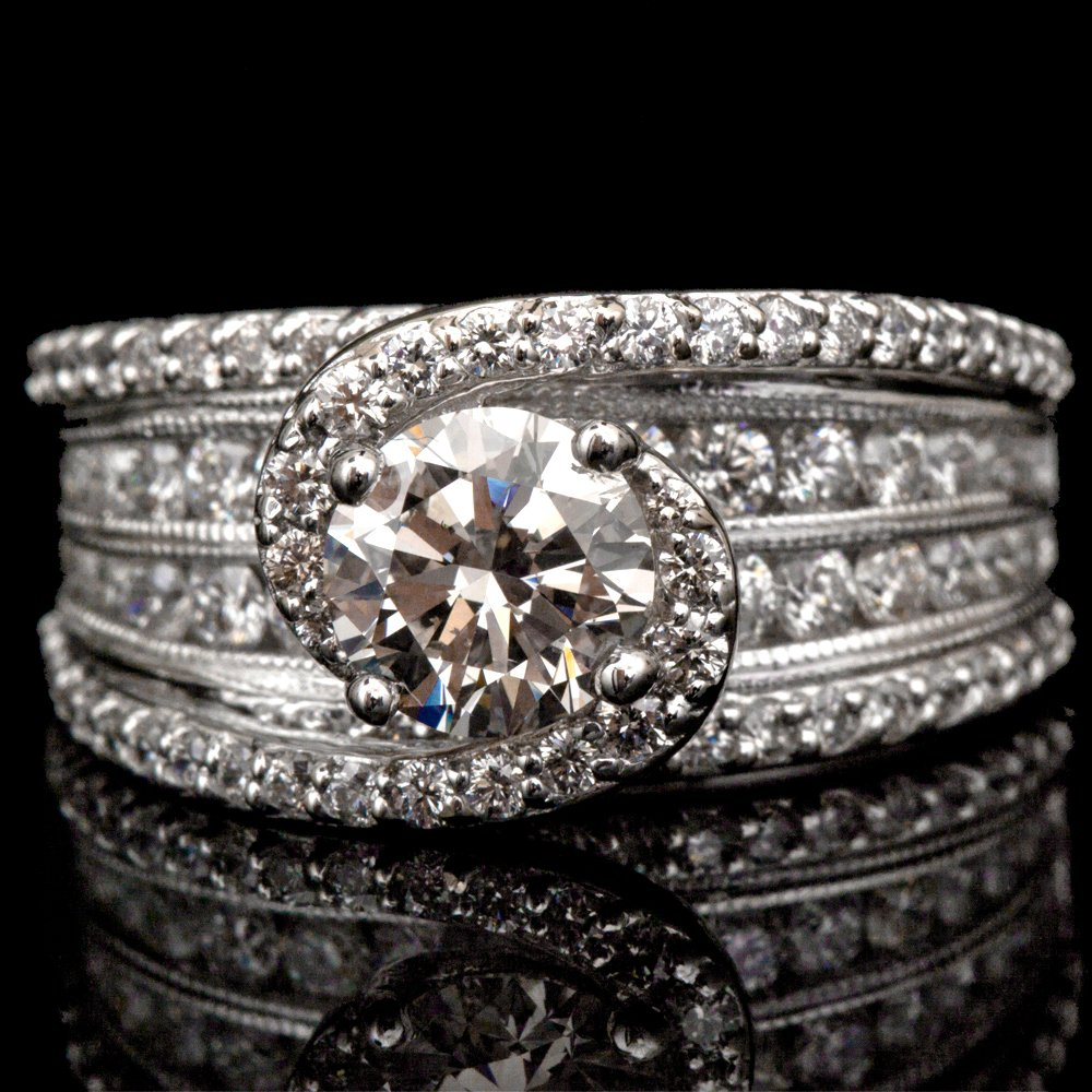 14K GOLD LADY'S RING  W/ 3.01ct. DIA