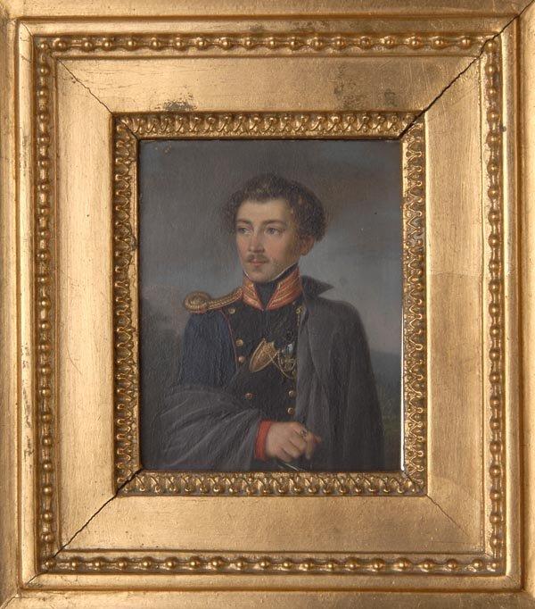 1008: Friedrich Wilhelm Spohr, Porträt eines jungen Man