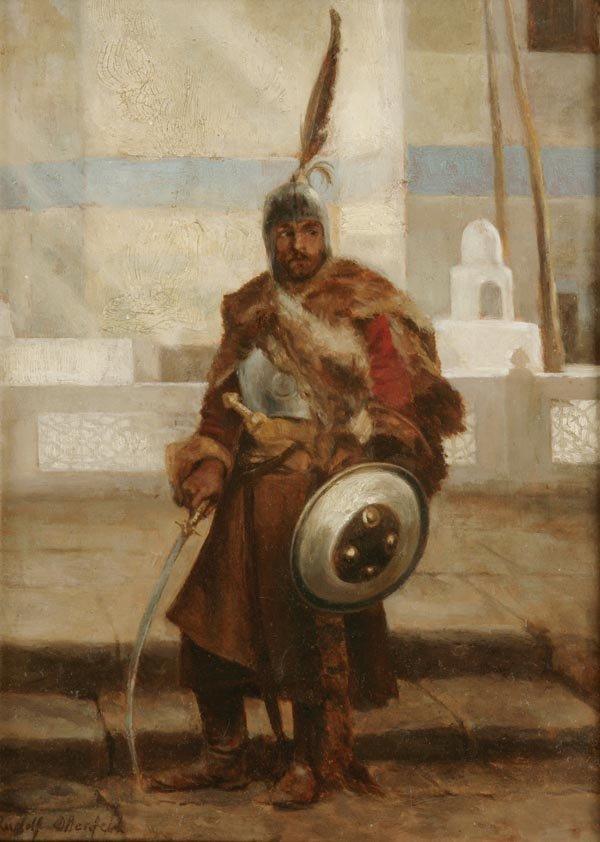 1013: Rudolf Otto von Ottenfeld, Wächter vor der Stadt,
