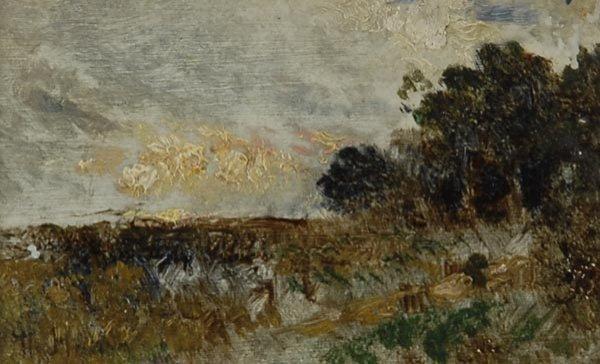 1016: Theodor Hagen, Landschaft, um 1880