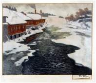 1996: Frits Thaulow, Winterlandschaft, um 1890