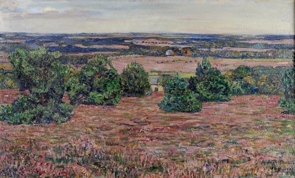 3003: Heinrich Richter-Berlin, Landschaft bei Worpswede