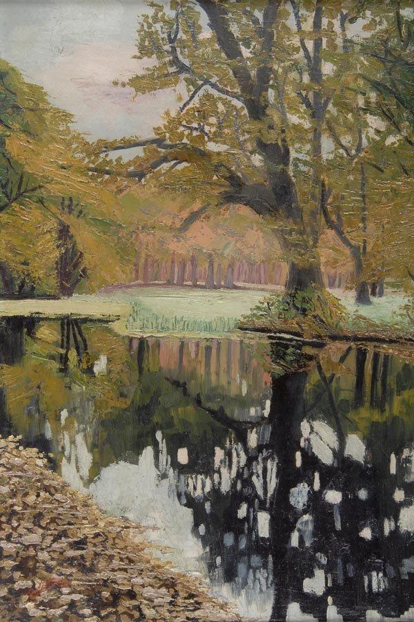 3005: Unbekannter Künstler, Deutschland, Waldsee, 1926