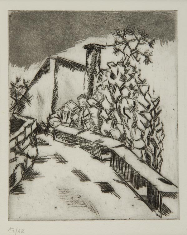 3010: Georg Tappert, The Bridge, around 1914