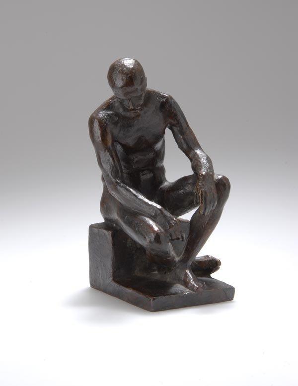 3014: Rudolf Bosselt, Sitting Figure, around 1930