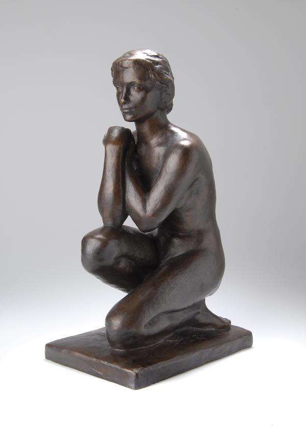 3016: Fritz Klimsch, Pondering, around 1935