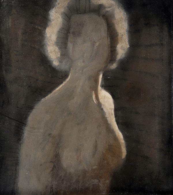 3017: Alfons Walde, In Contre-Jour, around 1927