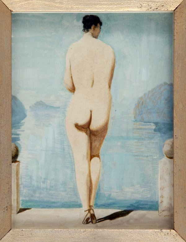 3018: Alfons Walde, Nude Showing Back View, around 1928