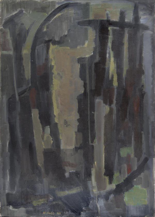 3181: Hakki Anli, Komposition, 1956