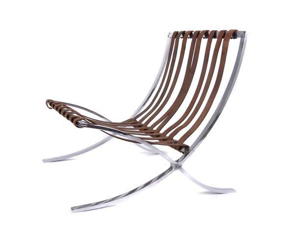 4027: Ludwig Mies van der Rohe, 'Barcelona-Chair', 1929