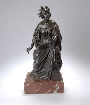 Unknown Sculptor, Poetry, around 1840