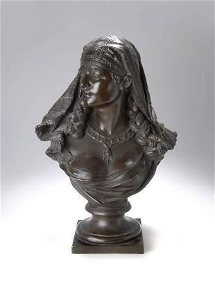 Unbekannter Bildhauer, Araberin, um 1880